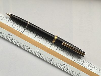 Vintage Sheaffer Imperial I Touchdown Fountain Pen Black Working