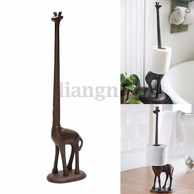 Girafe Support Papier Porte Toilette Rouleau Distributeur Salle Bain Roll Holder