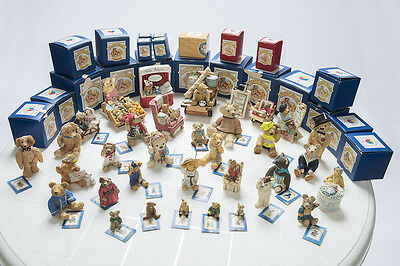 'Colour Box' Teddy Bear Ornaments by Peter Fagen - collection