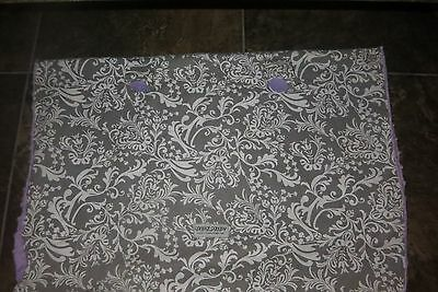 Very Nice Light Gray & Purple Canopy Cover Excellent Used Condition!