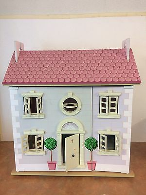 Delux Wooden Doll House + Furniture + Accessories- Great Condition