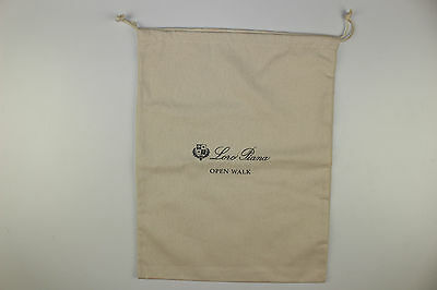 """One Loro Piana """"Open Walk"""" Dust Bag-Size: 15 x 12 inches-Holds Two Shoes"""