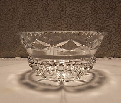 "small crystal bowl - sweet dish ""Webb & Corbett"""