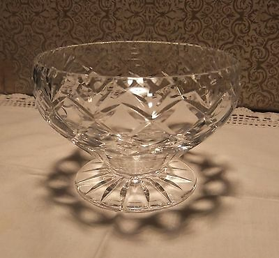 "small crystal bowl or sweet dish ""Webb Corbett"""