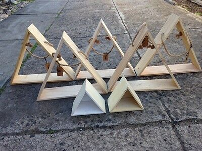 Typo Timber Triangles x 7