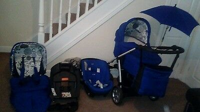 mamas and papas sola pushchair travel system