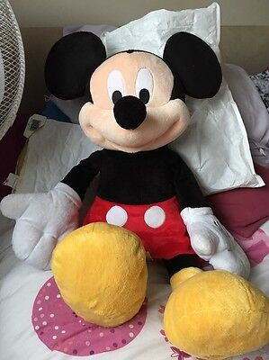 Large Disney Mickey Mouse Teddy