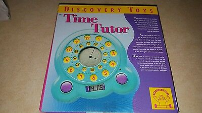 Discovery Toys Time Tutor *new*