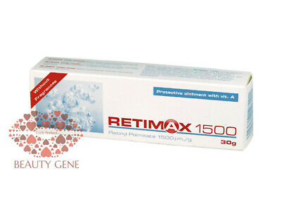 RETIMAX 1500, Retinol, Vitamin A Cream Acne Wrinkle Pigmentation Eczema
