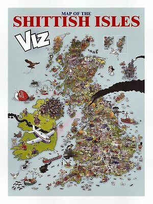 Viz Map of the Shittish Isles Summer 2001