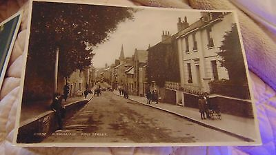 1920s POSTCARD KINGSBRIDGE, FORE STREETIN VGC