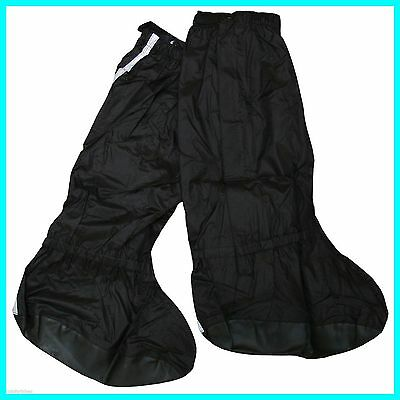 Bikeit Waterproof Motorcycle Motorbike Aquashell Overboots Over Boots Sizes