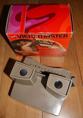 VINTAGE SAWYER'S VIEW-MASTER VIEWER ORIGINAL 1960's MODEL G RARE BOXED RETRO