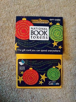 National book tokens £20 value each