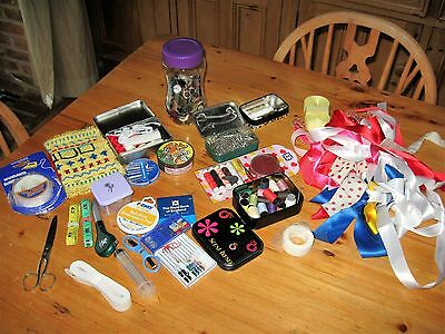 Job lot vintage sewing/craft items
