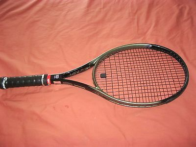 Wilson Dual Taper Beam Hammer Profile System Tennis Racket No 4 4 1/2