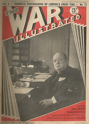 The War Illustrated 10th January 1941 Volume 4 Number 71 Winston Churchill