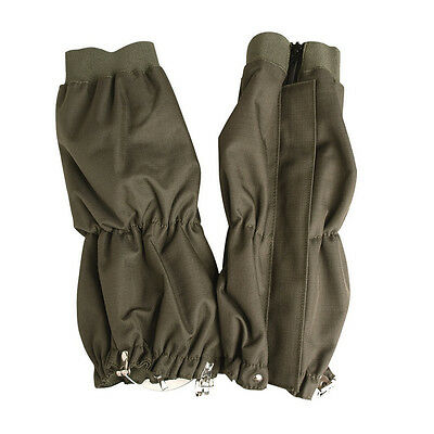 Mil-Tec Leg Gaitors Green Waterproof Trouser Gaitors Hunting Rambling Airsoft