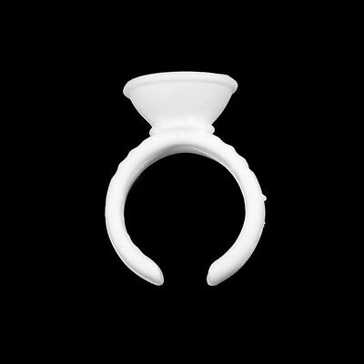 Eyelash Extension Disposable Glue Holder Ring (choose quantity)