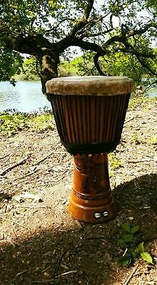 Djembe Drum from Senegal with original case
