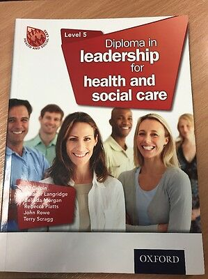 Level 5 Diploma In Leadership For Health And Social Care Book
