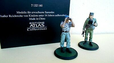 SET DUE SOLDATINI SECONDA GUERRA MONDIALE ATLAS  Scala 1:32 cod. 7132141