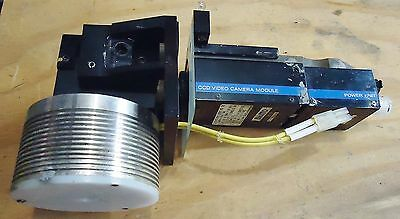 Sony Ccd Video Camera Module W/ Power Unit: M/N Xc-37 & Dc-37, S/N 76656 & 69183
