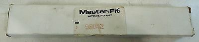 Master-Fit Code 3 #93042 Weksler Water Heaterpart Super Ec Therm 152 Deg. F.