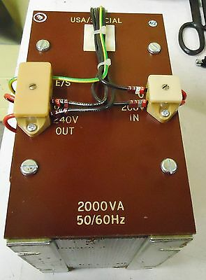 USA/SPECIAL 2000VA 50/60 Hz TRANSFORMER FOR QUAD 841C SOLDER REFLOW OVEN UK