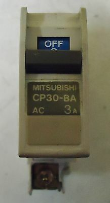 Mitsubishi Circuit Protector Model# Cp30-Ba, Serial# B9110, Made In Japan.