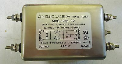 Nemic-Lambda Noise Filter Model# Mbs-1215-22, Made In Japan