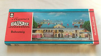 Model Trains Tt Gauge Scale 1:120  Vero Bausatz Train Station Boxed And Complete