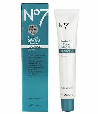 Boots No7 Protect Perfect Intense Advanced Serum Anti Ageing Genuine New 50ml