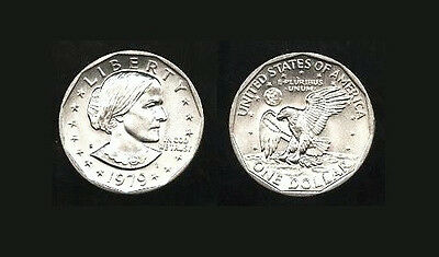 1979-s BU Susan B Anthony Dollar Unc. SBA