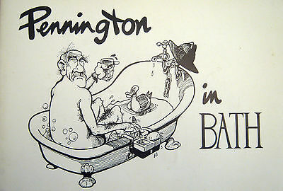 Nice Vintage Book - Pennington In The Bath -  Signed First Edition 1989