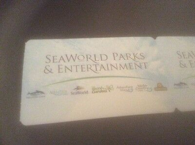 2 Seaworld Tickets Orlando. 3 Park To Include Bush Gardens/aquatica.