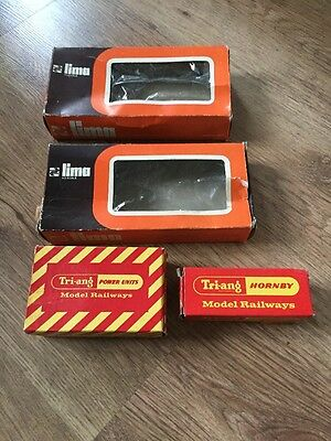Triang, Hornby, Lima Empty Boxes