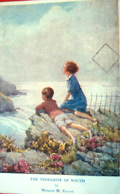 Nice Vintage Margaret Tarrant Postcard- The Thoughts Of Youth- Posted 1948