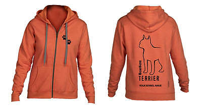 Boston Terrier Dog Breed Hoodie, Dogeria Breed Design. Men's & Ladies sizes