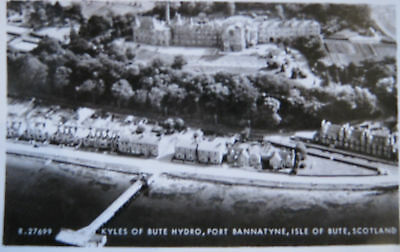 Nice Real Photo Postcard -   Bute Hydro,port Bannatyne,isle Of Bute,scotland