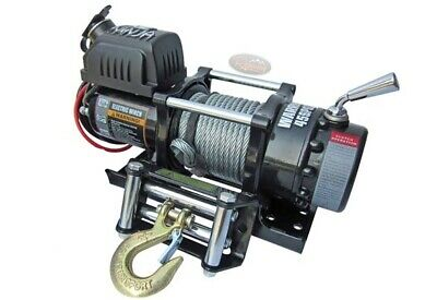 Warrior 4500 NINJA 12v STEEL ROPE WINCH IDEAL FOR ATV / UTV