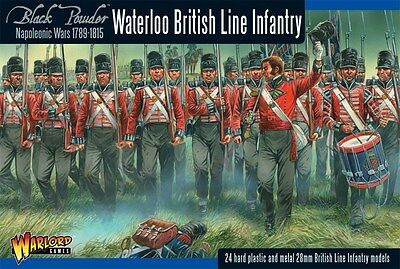 British line Infantry (Waterloo) New Warlord Games