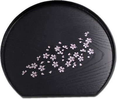 Petit plateau japonais rond Sakura - Made in Japan - Import direct