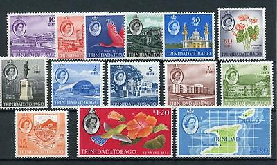 Trinidad & Tobago 1960-67 short set to $4.80 SG284/97 (exc 2nd 15c) MM