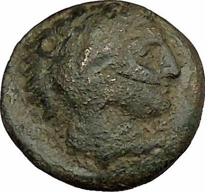 Alexander III the Great as Hercules 336BC Ancient Greek Coin Bow Club i39214