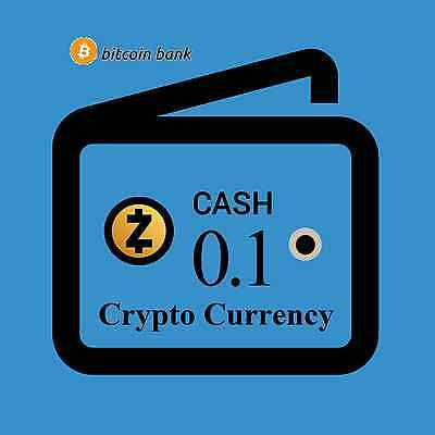 0.1 ZCash Crypto Currency Guaranteed Deliver Direct to Your Wallet! ZEC-Coin