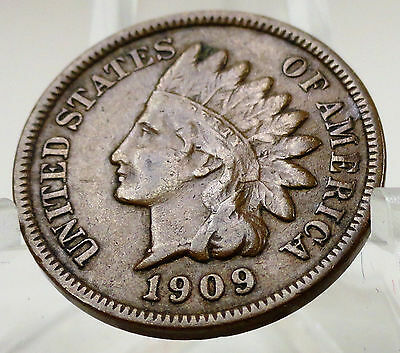 1909 Indian head cent, #64850