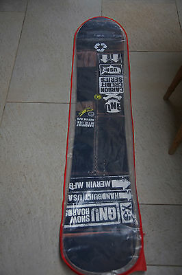 Gnu Carbon Copy Snowboard 155cm- Ideal First Board