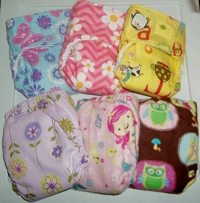 Newborn/XS Fitted Cloth Diaper, 5-12lbs. You pick the fabric!