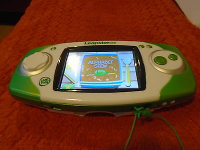 Leapfrog Leapster Gs Explorer Console Green Vgwc